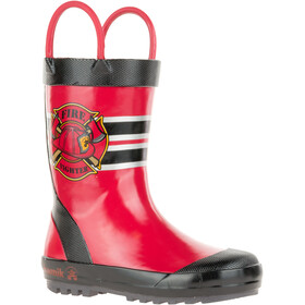 Kamik Fireman Rubber Boots Toddlers red